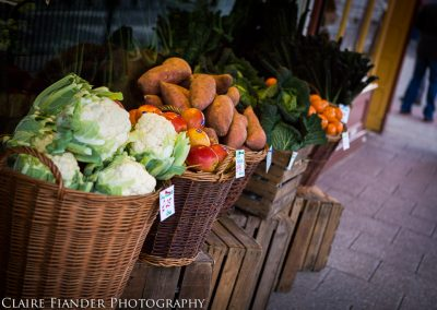 Fresh fruit and veg at Staines Farm Shop