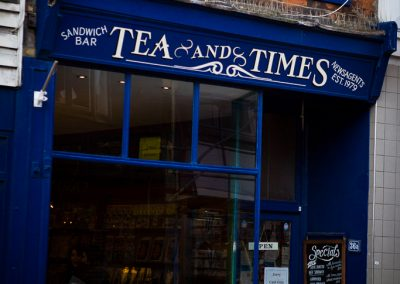Tea and Times Whitstable