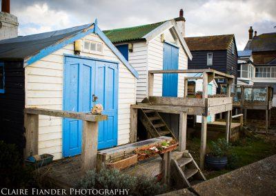 Whitstable fishermen's huts