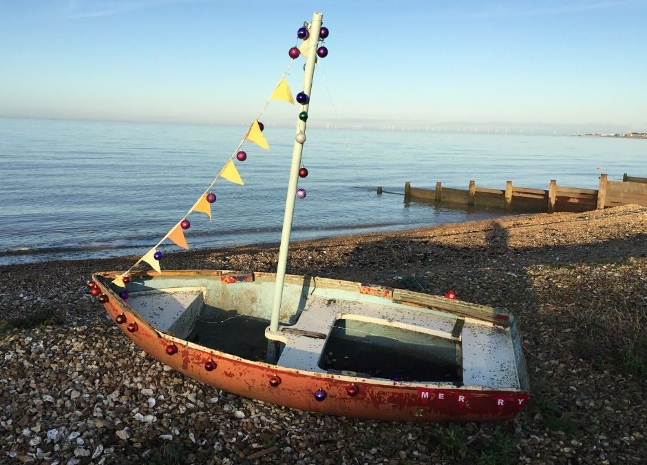 Jolly tidings from Whitstable!